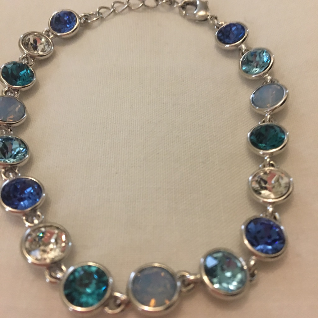 STAR SANDS Blue shades Crystal Bracelet