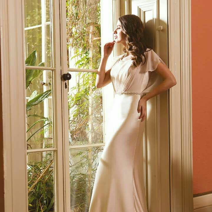 Sacha james wedding dress
