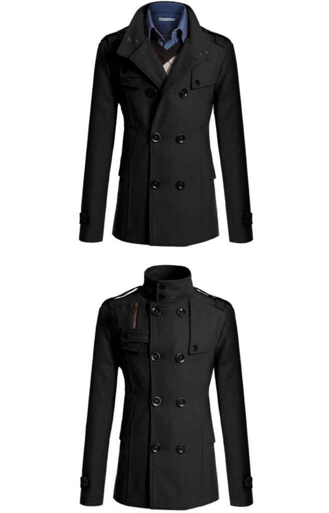 Double-Breast Trench Coat