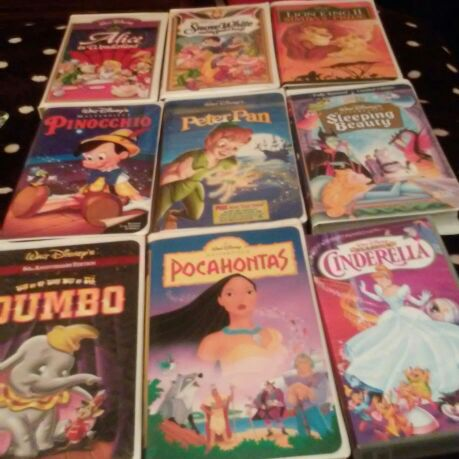 Disney collection vhs