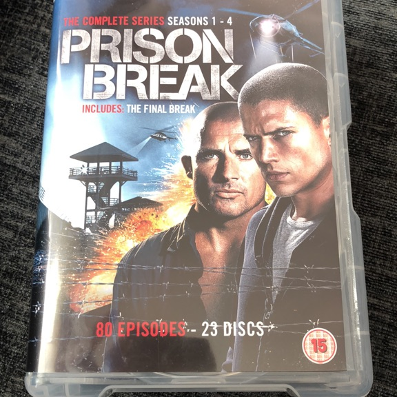 Prison break box sets , seasons 1-4