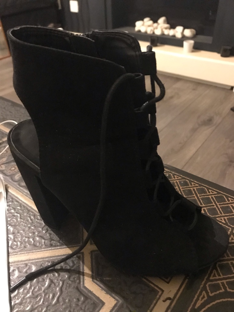 Lack lace up boots size 4 from New Look worn twice