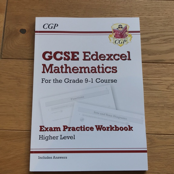 GCSE EDEXCEL MATHS PRACTICE WORKBOOK