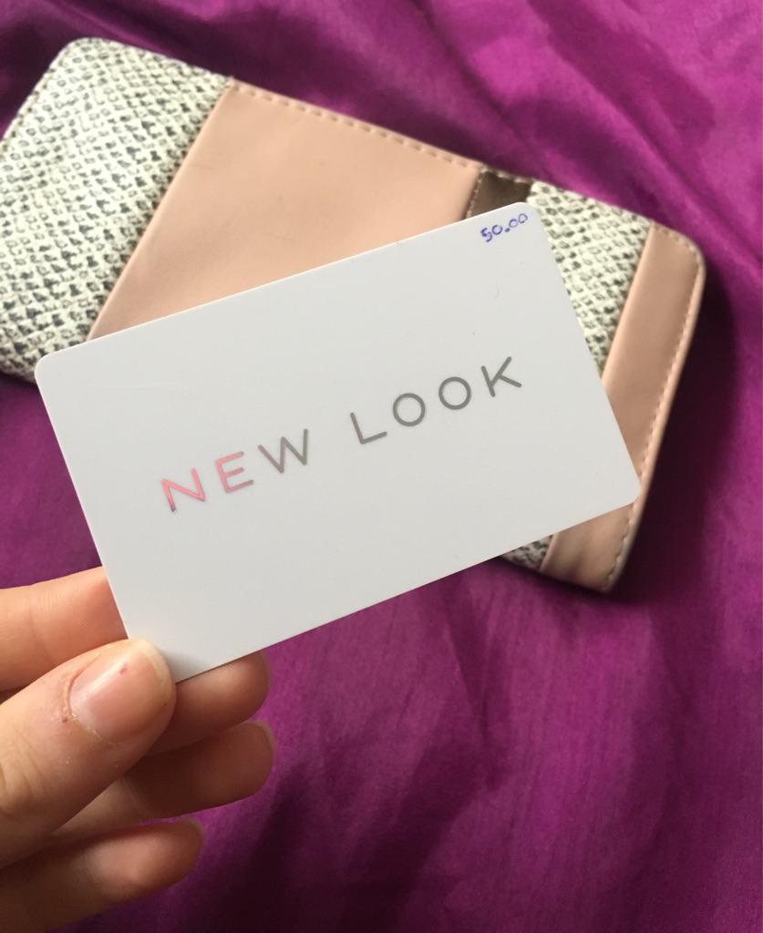New look £50 gift card