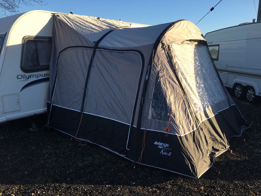 Vango kela IV standard air drive away awning used once