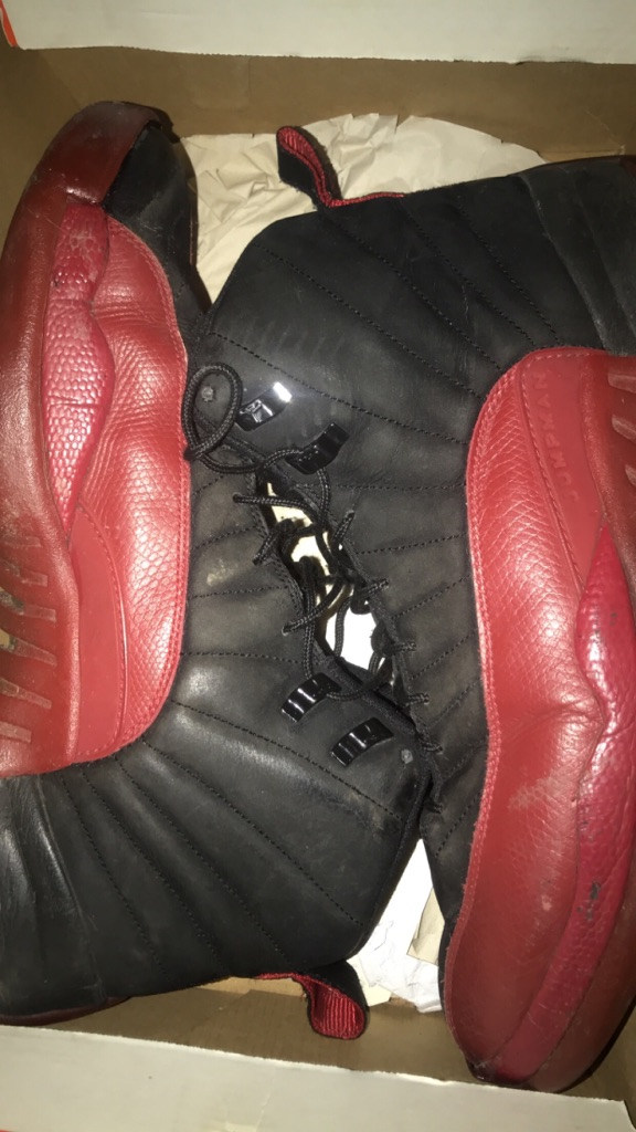 Size 12 Jordan Flu Games