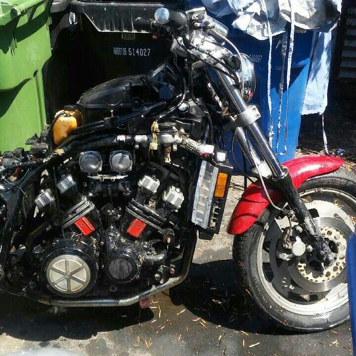 1989 YAMAHA V max 1200 cc