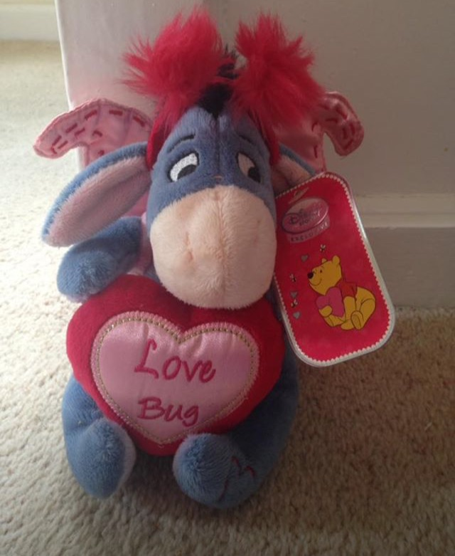 Disney Exclusive Love Bug Eeyore Teddy