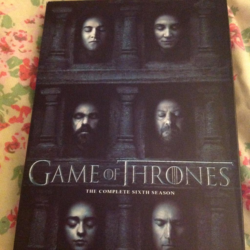 Game Of Thrones Season 6 Dvd Boxset Village
