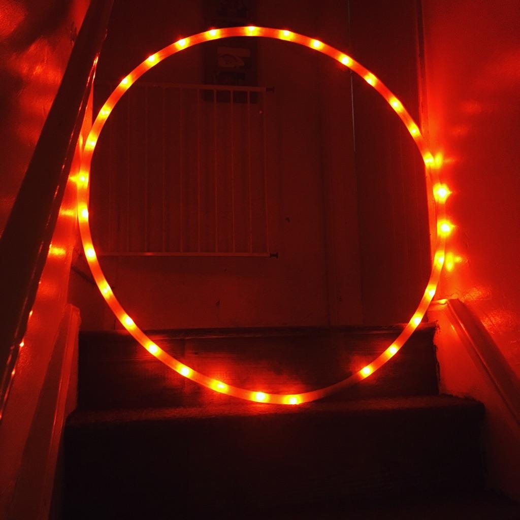 Static LED Hula Hoops