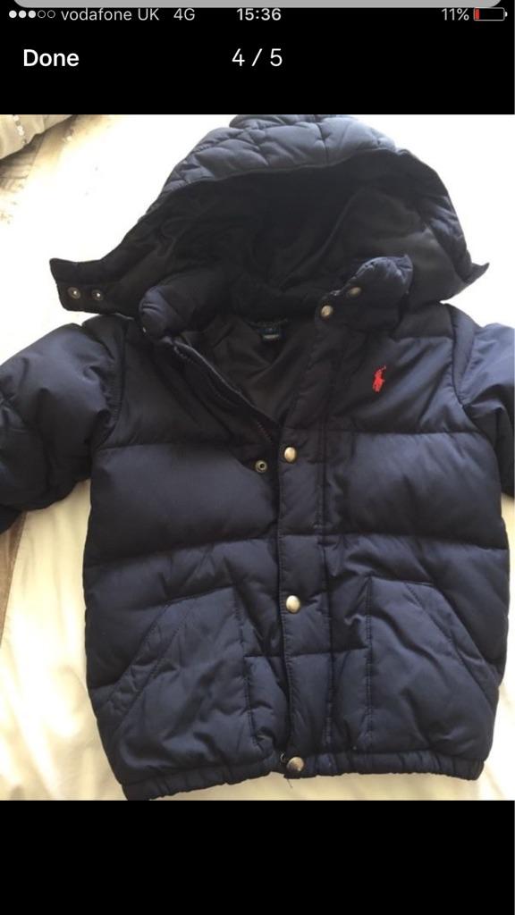 Genuine boys Ralph Lauren winter coat