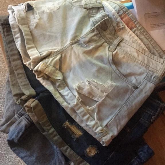 Jean shorts Bershka size 36