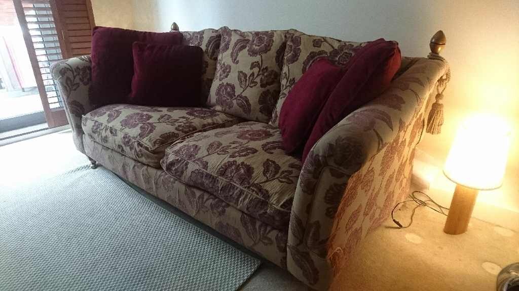 DFS 3 seater sofa and love seat