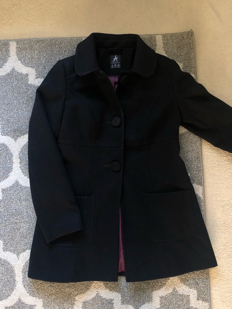 Women's Black coat (10/12)