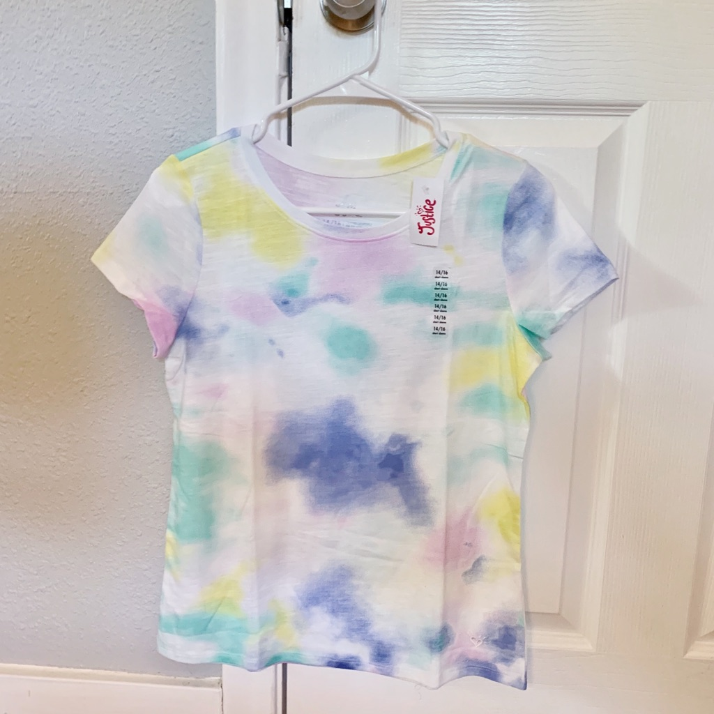 Brand New With Tags Pattern Tee from Justice
