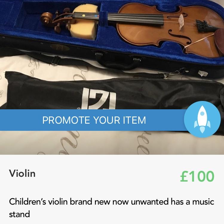 Excellent condition violin