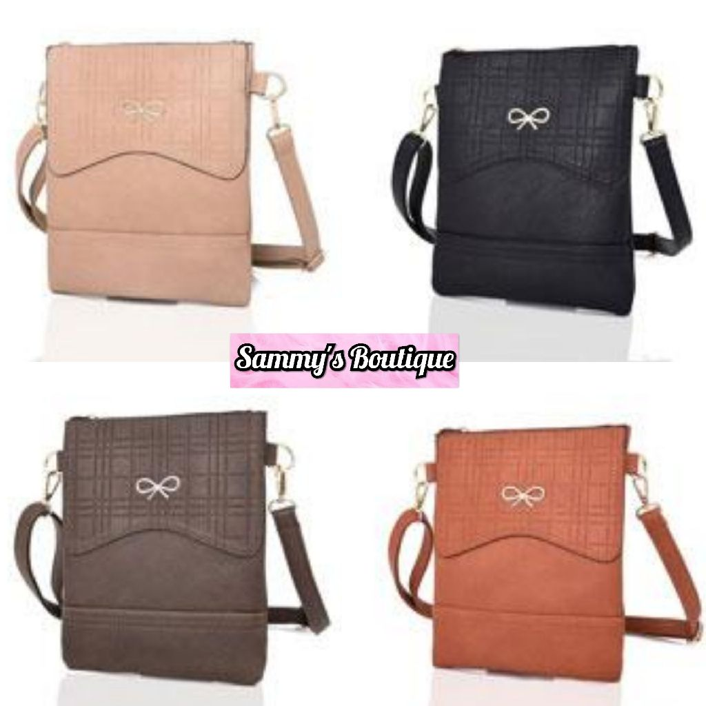 Ladies Atara Face Bow Crossbody Bag