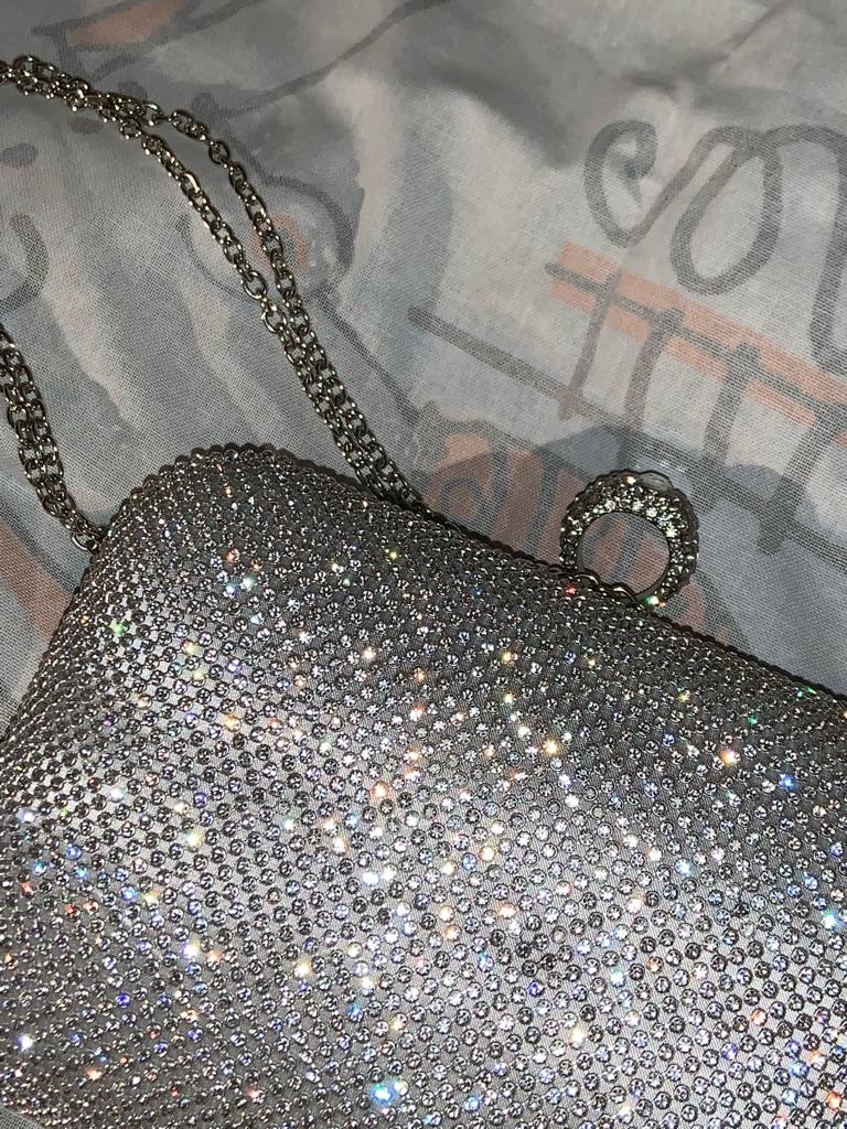 Sparkly clutch purse / bag