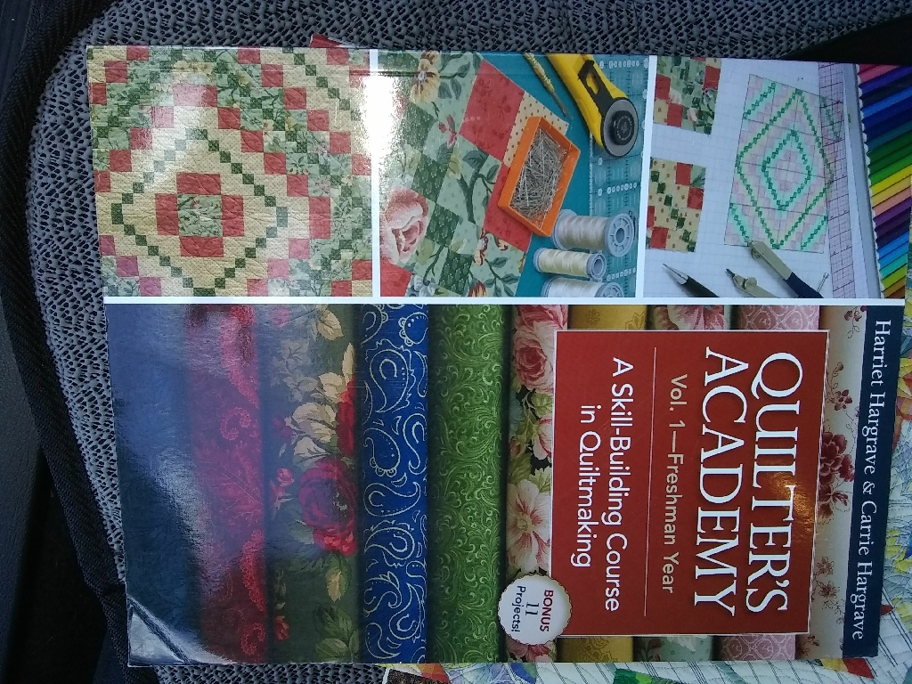 Many different quilting book titles