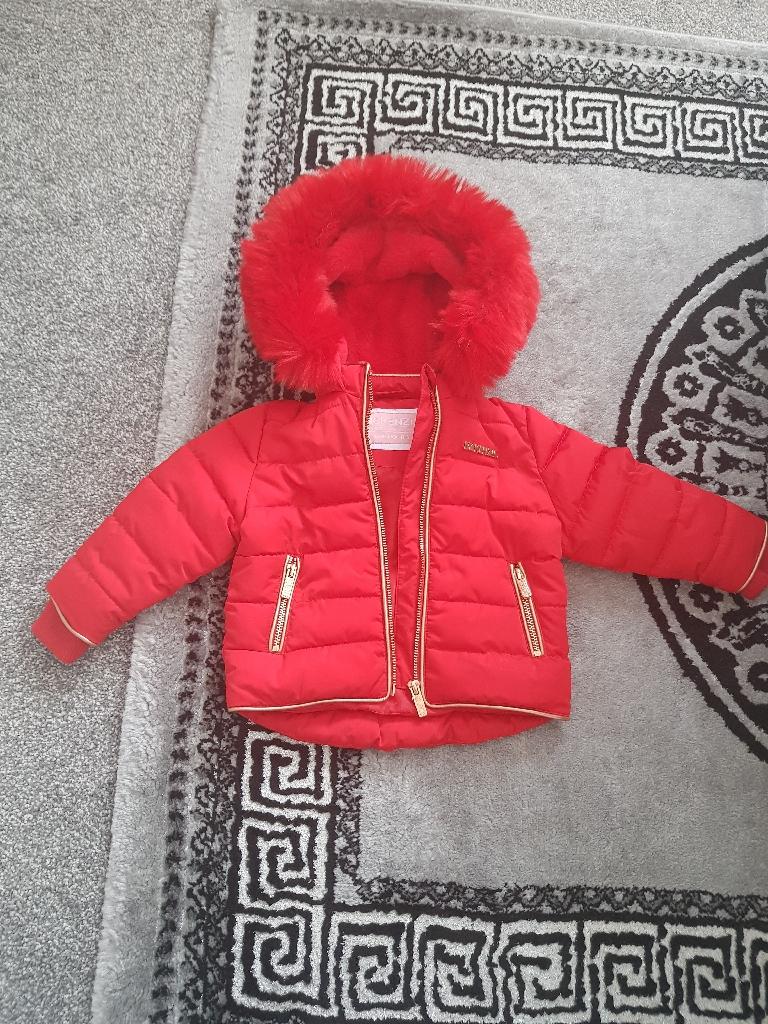 McKenzie Red Fur Jacket