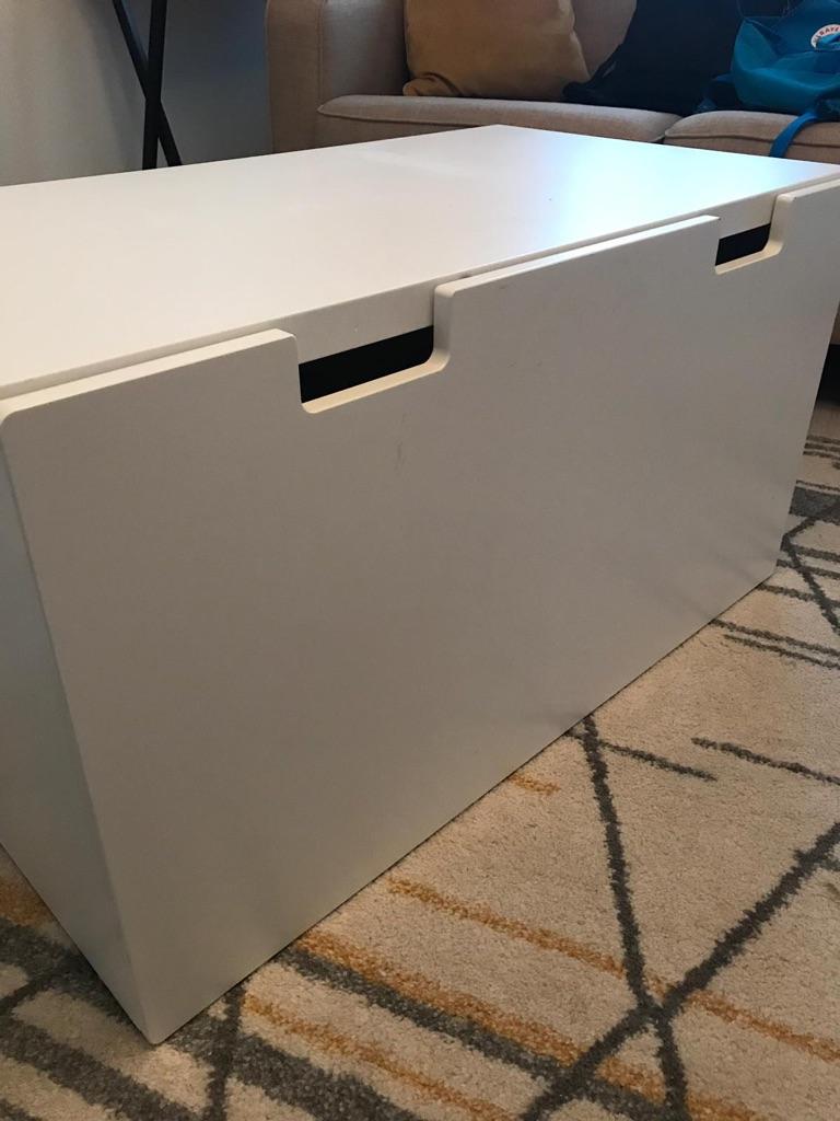Ikea toy storage bench box
