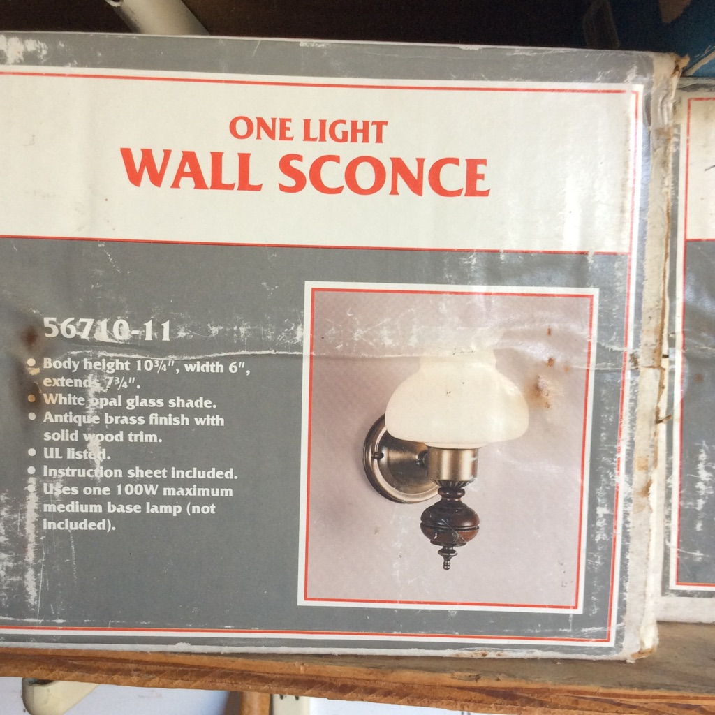Wall sconce-4 available