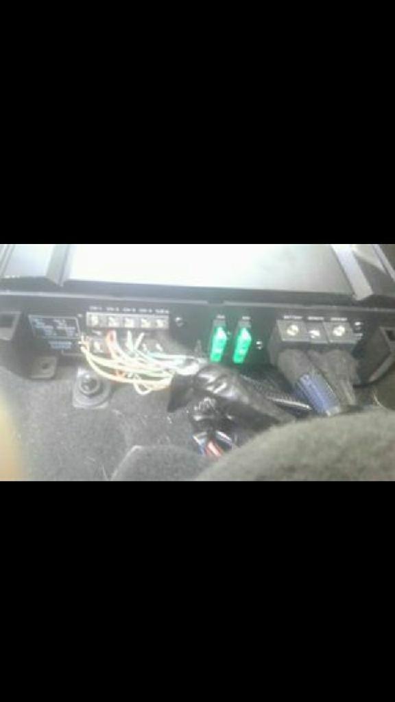 Alpine s series car amplifier