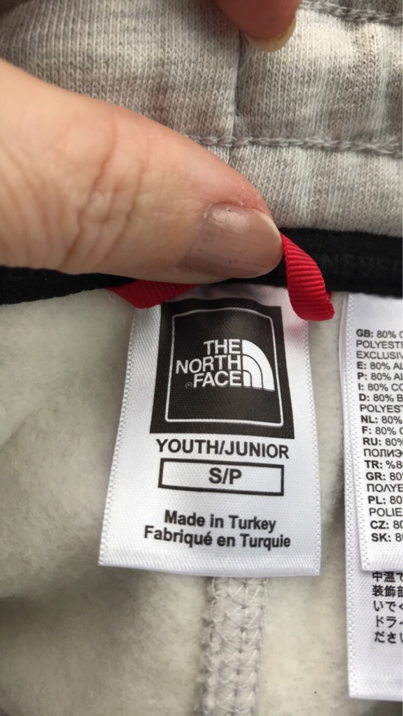 North face boys tracksuit