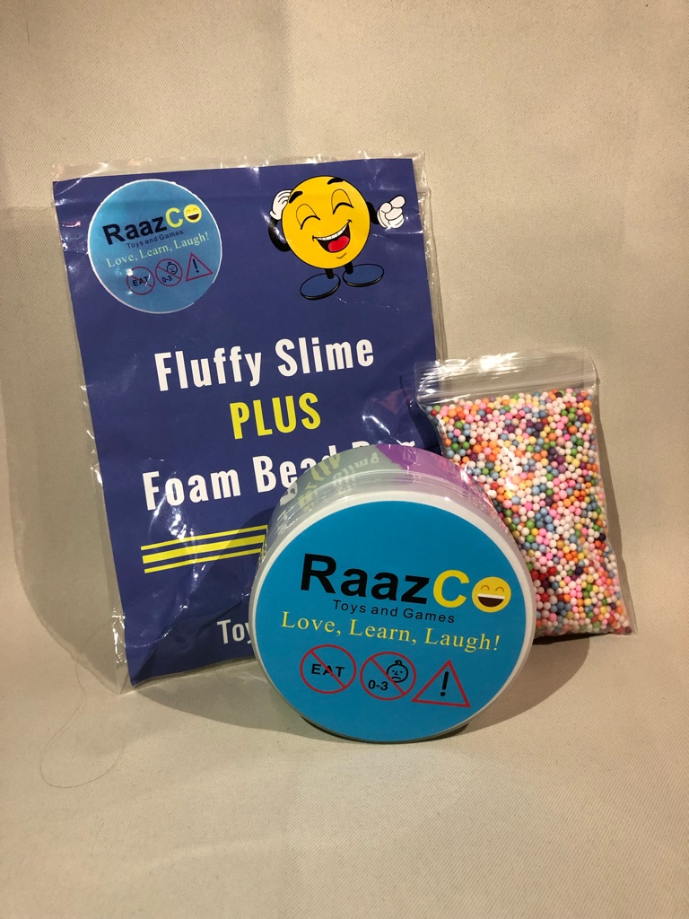 Fluffy Slime Bundle Fun Packs For Kids