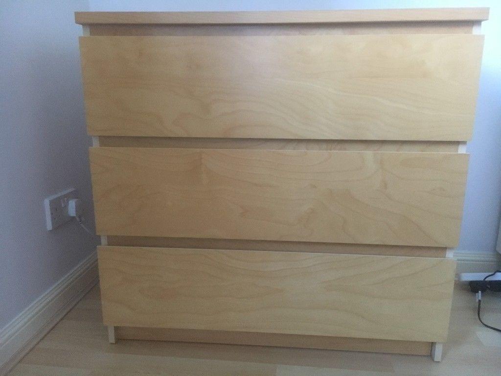 IKEA Malm drawers