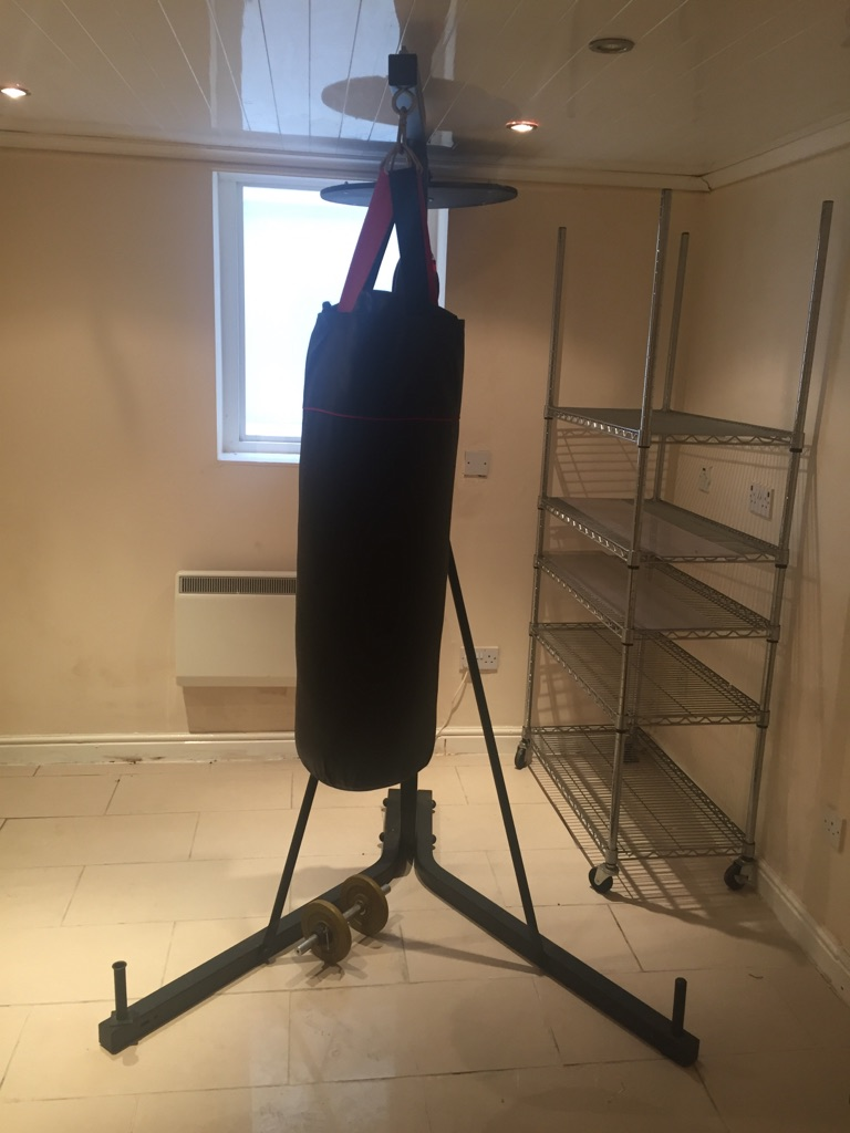 Punch bag and ball for sale