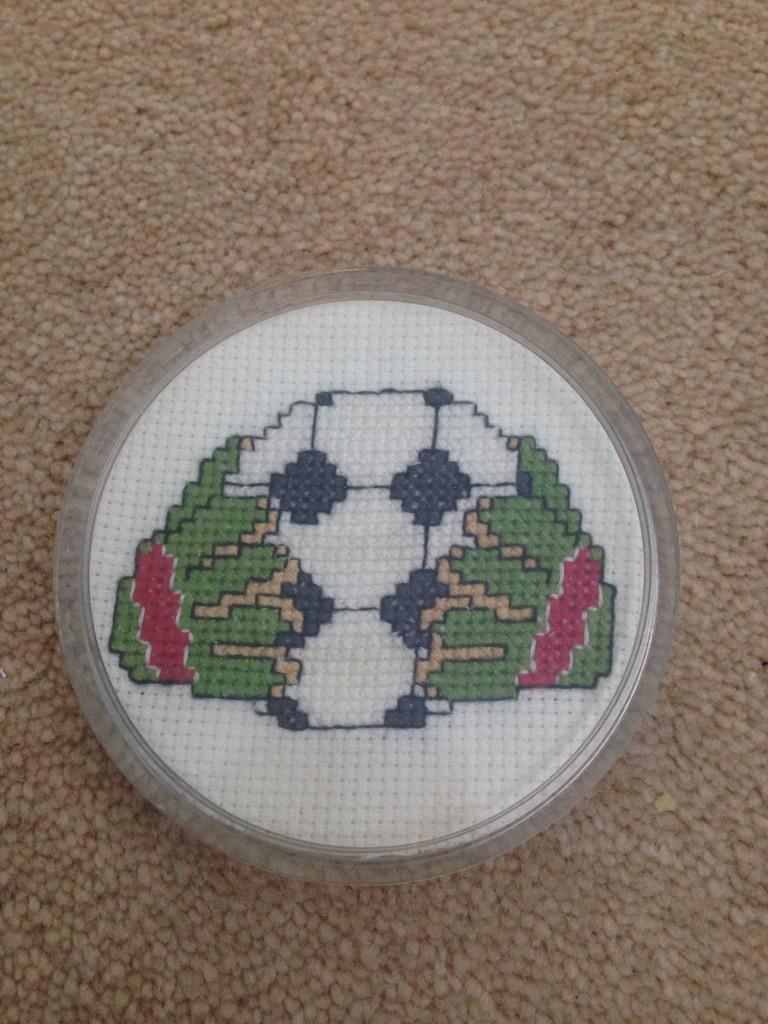 Cross stitch Coaster