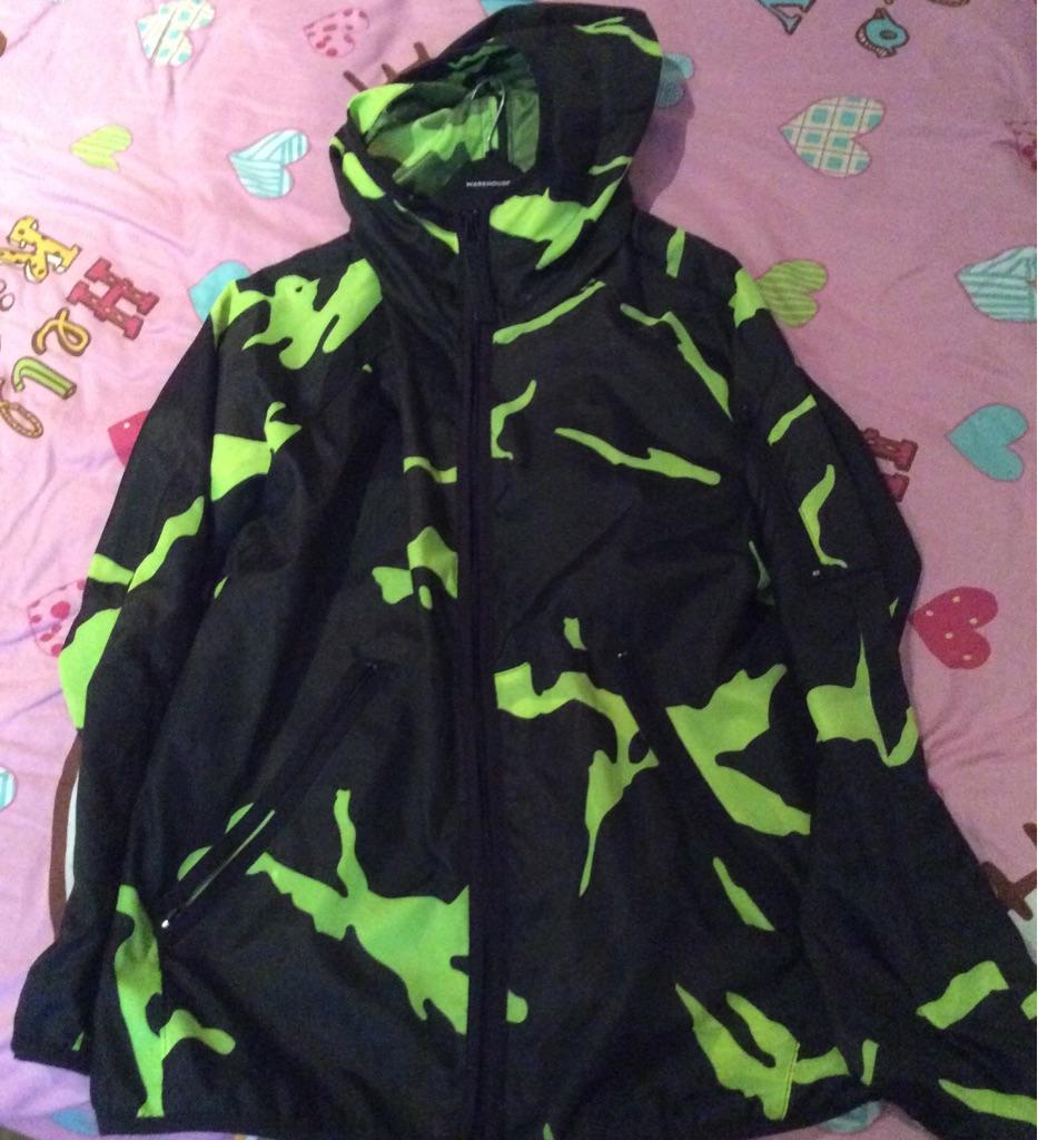 G Star Raw Camo Windbreaker Jacket