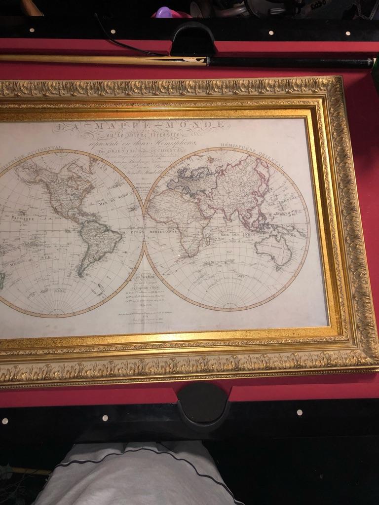 Captain cook antique map