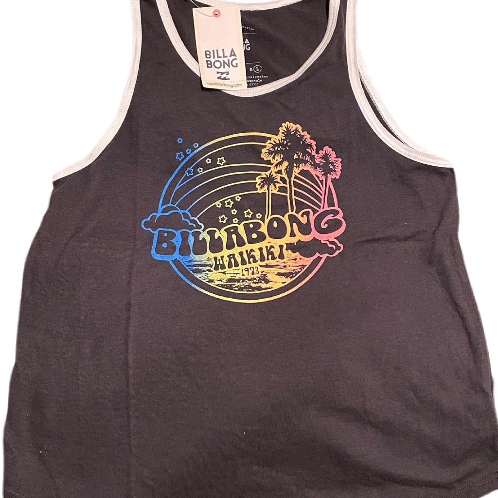 Billabong Graphic Tee Size: Large
