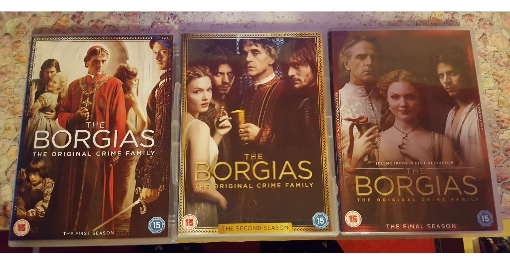 The borgias box set