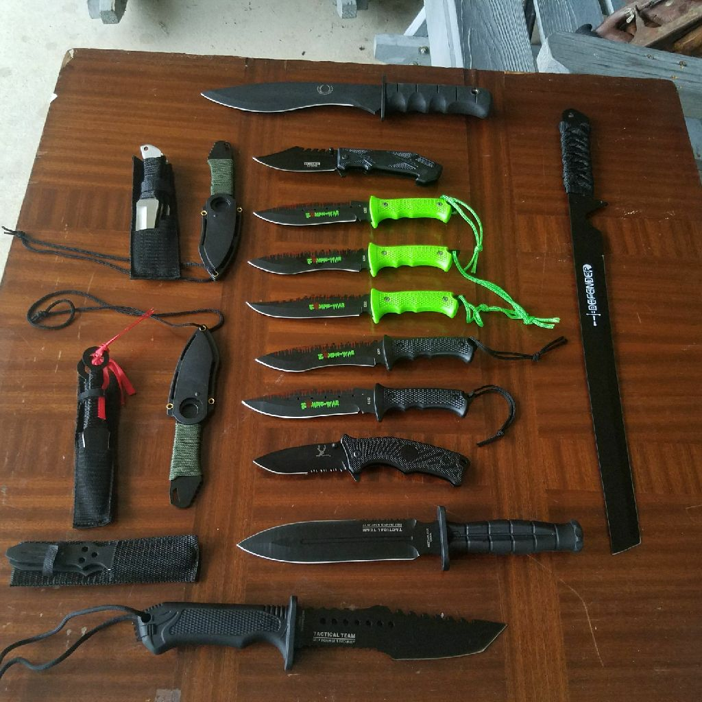 Knife collection lot brand new