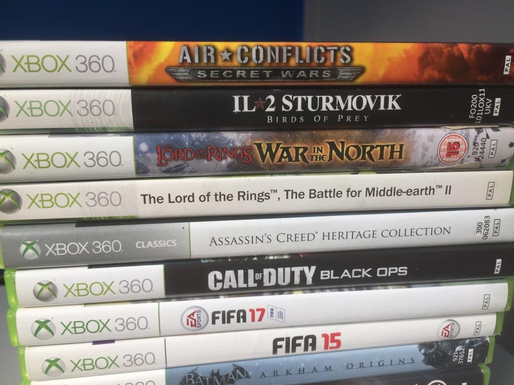 Xbox 360 + 20 Games