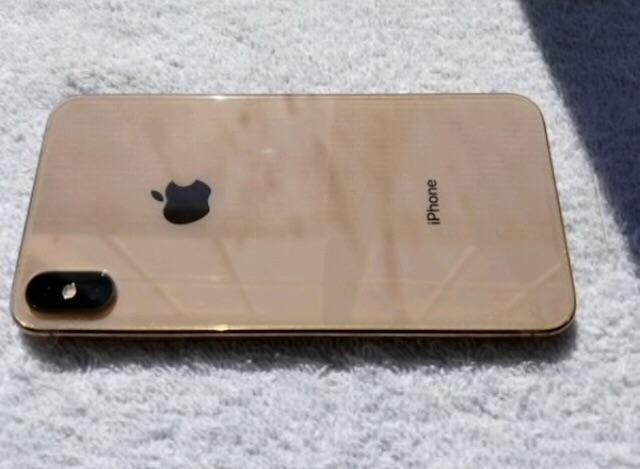 Gold iPhone XS Max - 256GB (Unlocked)