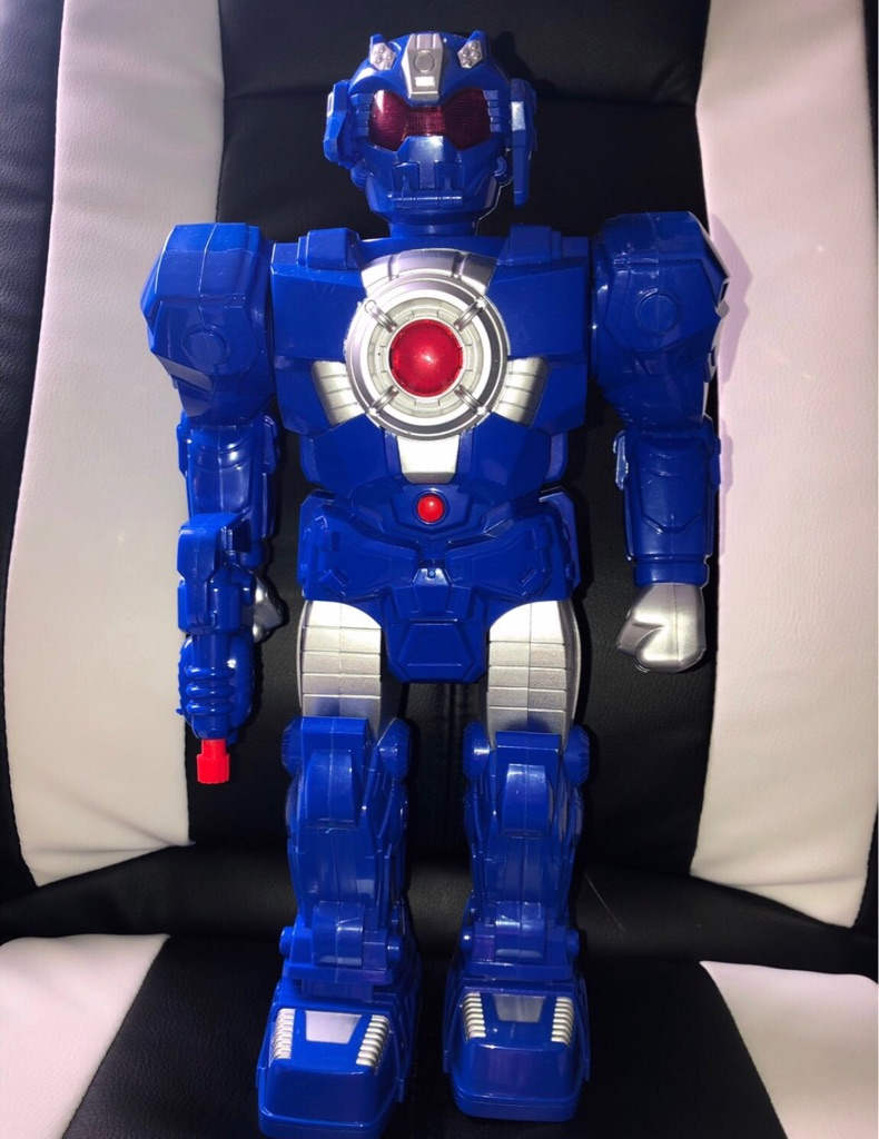 Blue Robot Toy