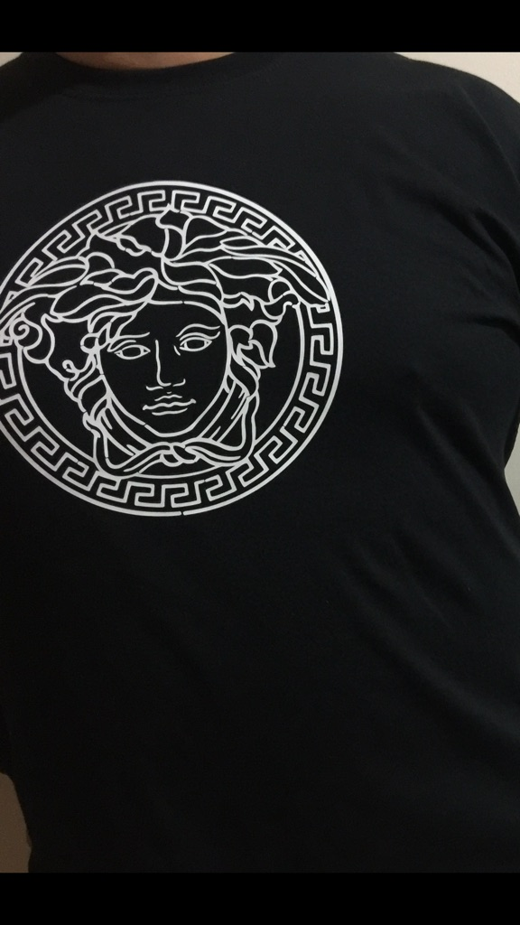 Versace long sleeves T-shirt