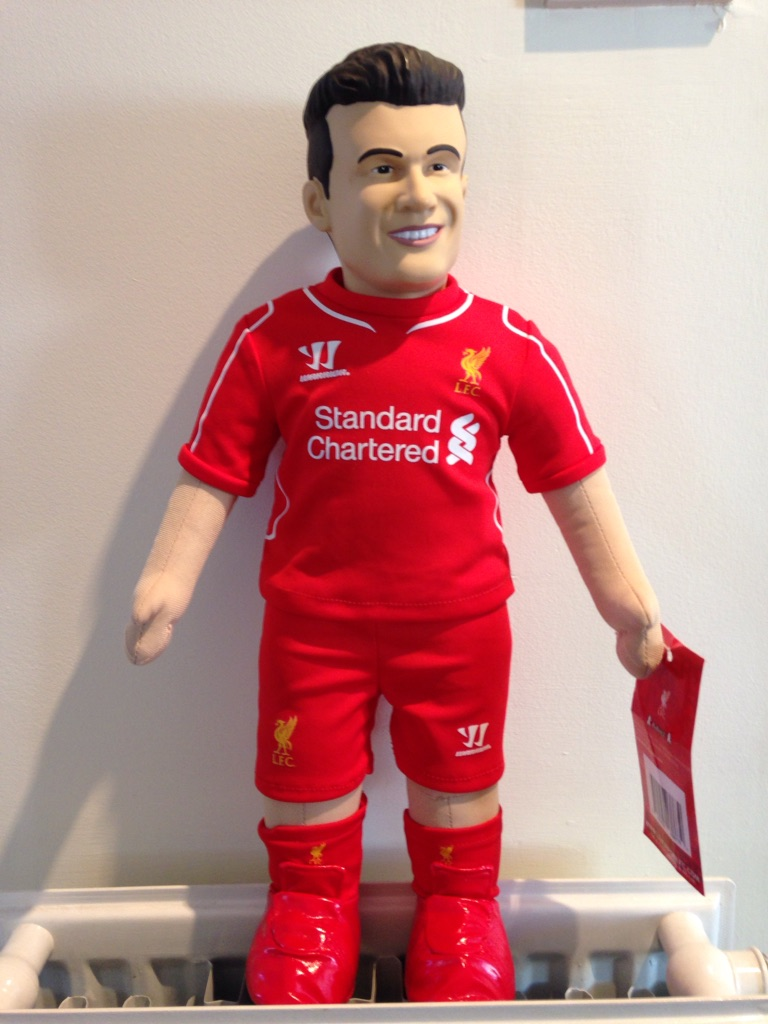 Liverpool Coutinho Doll