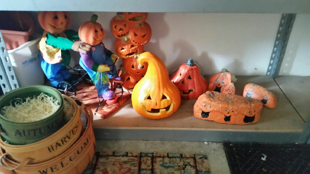 Beautiful fall decorations