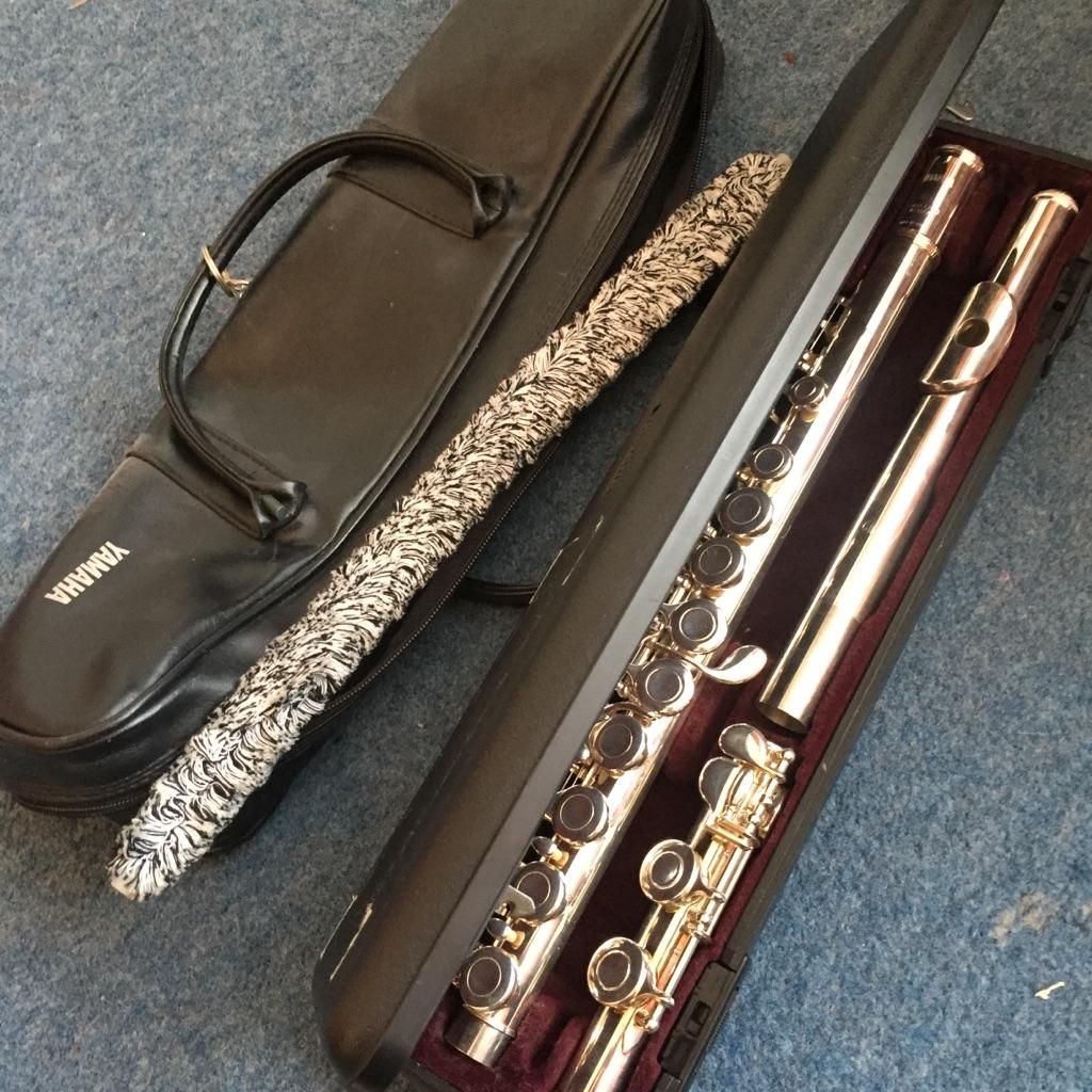 Yamaha YFL-211 Silver Plated Starter Flute