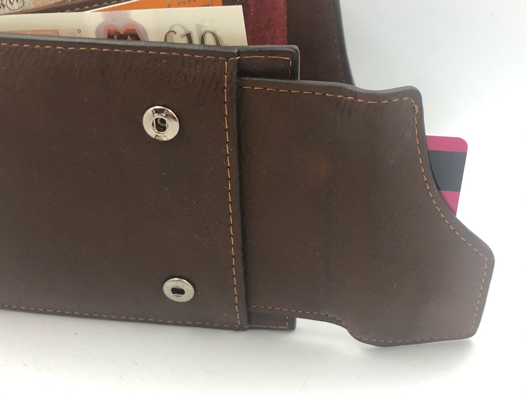 [CHRISTMAS GIFT for MAN] JAPAN Leather PU WALLET with SIM/SD double compartment and pull able driving license tab with window