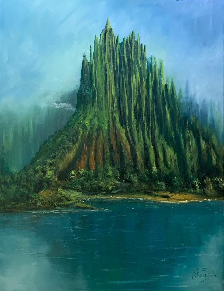 Original oil painting Art