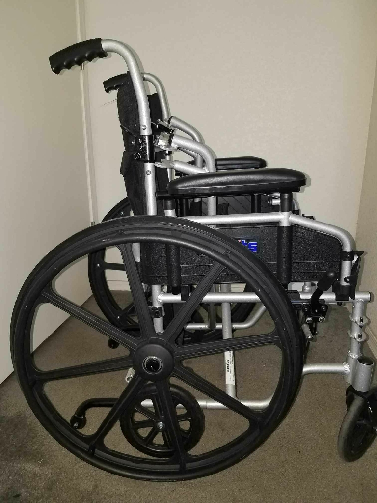 Merits wheelchair and seated walker deluxe rule