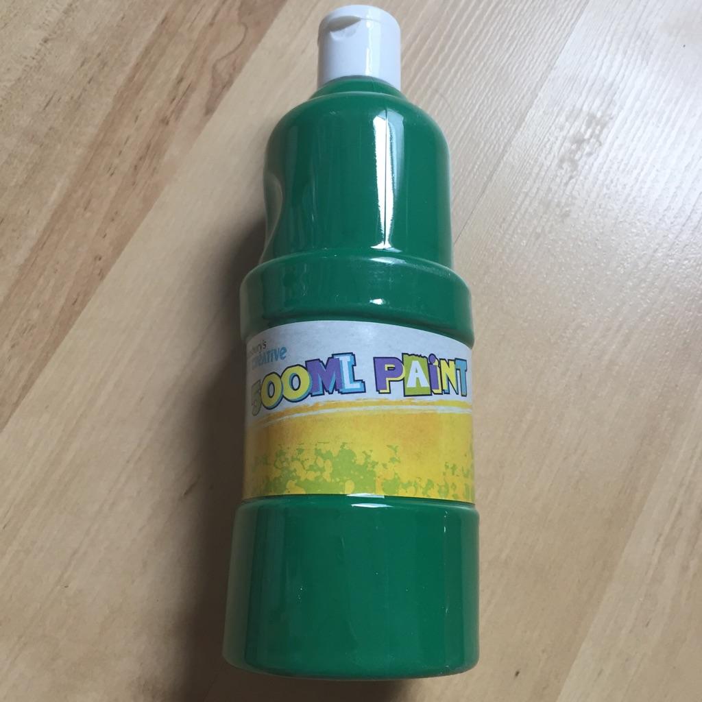 Sainsbury's Get Creative 500ml Green Paint