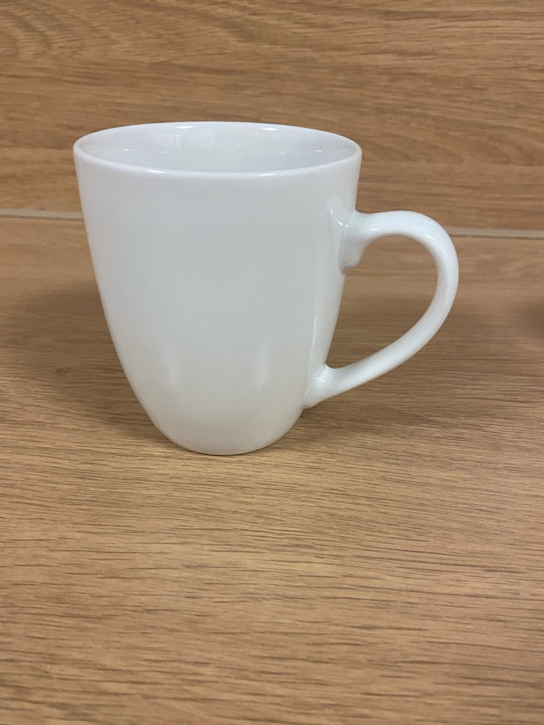 White/Beige Cup/s (individual or pack of 4)
