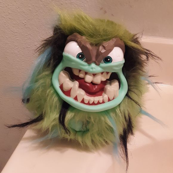 Green Grumbie Toy